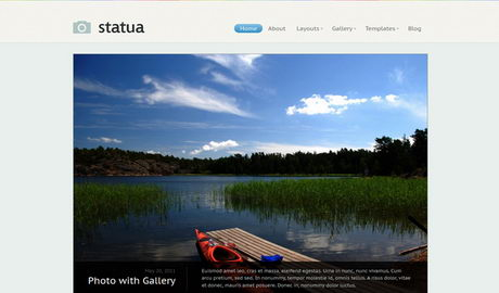Statua - Фото-тема WordPress от WooThemes