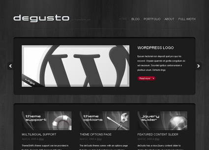 deGusto - Премиум тема WordPress